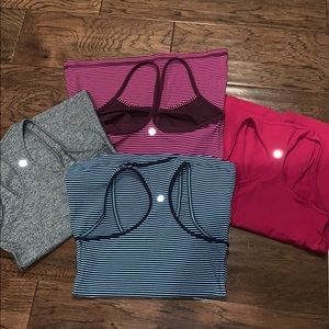 Lululemon Tank Bundle of 4